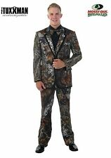 New Mens Mossy Oak Complete Package Tuxedo Set Formal Wedding Prom TUXXMAN Camo