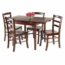 Winsome Pulman 5 Piece Extension Dining Table Set