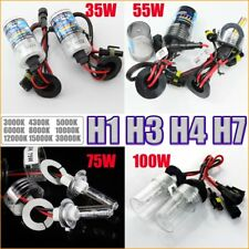 2x H1 H3 H4 H7 Hid Xenon Bulbs Lamp Car Headlight Conversion 35w 55w 75w 100w
