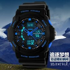 Men Luxury Brand Digital Watch Multi-function Silicone Men Sports Watches