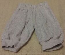 """""""George"""" Baby Boys Grey Marl Velour Feel Trousers 0-3 Months"""