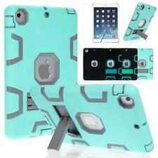 Shockproof Heavy Duty Rubber With Hard Stand Case Cover For iPad Mini 1 2 3 Gen