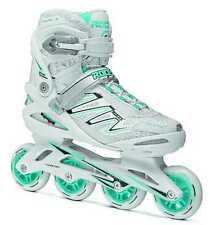 Roces Womens ZYX W Fitness Inline Skates ART White/Mint 400806