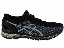 NEW MENS ASICS GEL-QUANTUM 360 CHAMELEON RUNNING SHOES TRAINERS ONYX / WHITE