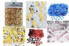 WEDDING ENGAGEMENT ANNIVERSARY VALENTINE CHRISTENING CONFETTI TABLE DECORATIONS