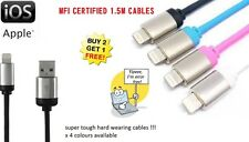 1.5 METER APPLE MFI Certified  Lightning Charger USB Cable error free