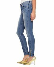 NWT JUICY COUTURE Knitdigo Black Label Blue Jagger Wash Skinny Jeans $158