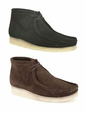 MENS CLARKS ADULTS - WALLABEE BOOT FORMAL/DRESS/WORK/CASUAL/LEATHER SHOES