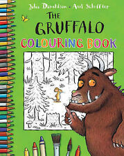 THE GRUFFALO COLOURING BOOK by JULIA DONALDSON & AXEL SCHEFFLER