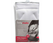 Babystudio Cozy Insert White Comfy support with breathable mesh technology