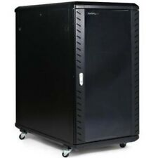 NEW STARTECH RK2236BKF 22U 36IN KNOCK-DOWN SERVER RACK CABINET....b.