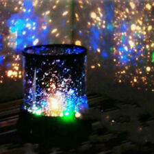 LED Starry Night Sky Projector Lamp Kid Gift Star Light Cosmos Master Decoration
