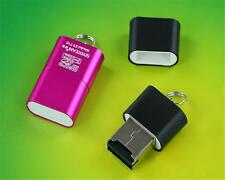New USB 2.0 Mini Size up to 480Mbps Micro SD TF T-Flash Card Reader Adapter WS