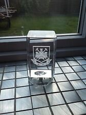 crystal glass etched west ham united orniment