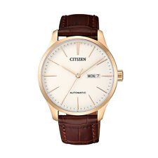 Citizen Casual Automatic  Mens Analog Brown Watch NH8353-18A