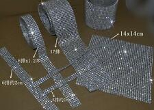 16ss 4m Iron On Hotfix Rhinestone Crystal Rope Chain Trim Clothes Appliques