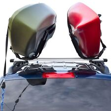 J-Bar Rack HD Kayak Carrier Canoe Boat Surf Ski Roof Top Mount Car SUV 2 Set