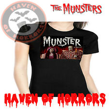 The Munsters Lily and Herman in Bed Tee