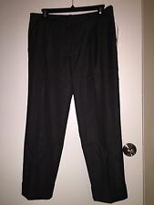 NWT Trina Turk Pleated Cuffed Ankle Pants Charcoal Gray $198 – Size 2, 6, 12