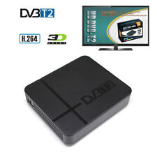 1080P Mini DVB-T2 Digital Terrestrial Tuner TV RECEIVER CONVERTOR HDMI Antenna
