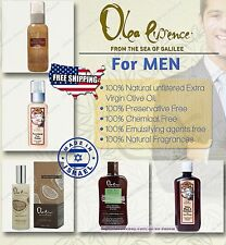 Olea Essence Cosmetics for men 100% Natural cosmetics with Virgin Olive Oil