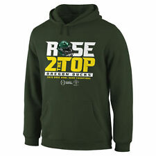 Oregon Ducks Green 2015 Rose Bowl Champions Rose 2 The Top Hoodie