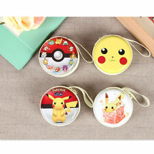 Lovely Pokemon Go  Wallet Card Holder Case Coin Purse Clutch Handbag Bag Hot
