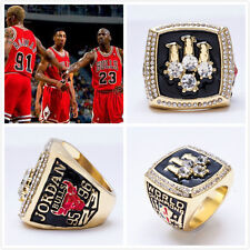 1996 Chicago Bulls MVP Michael Jordan Finals World Championship Ring Size 10-12