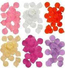 SILK ROSE FLOWER PETALS CONFETTI WEDDING ENGAGEMENT ANNIVERSARY 6 COLOURS