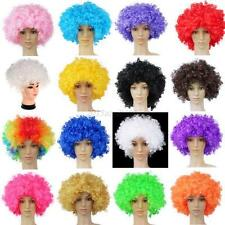 Adult Kids Afro Funny Curly Clown Party Wig Circus Costume Fancy Cosplay Wigs