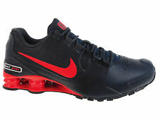 NEW MENS NIKE SHOX AVENUE RUNNING SHOES TRAINERS ANTHRACITE / ACTION RED / METAL