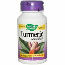 Turmeric Pills Natural Supplement Capsules Pure Caps 95% Tumeric Extract Tablets