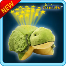 Authentic Pillow Pets Tardy Turtle Green Dream Lites Toy Gift