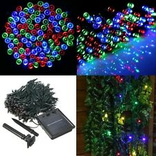 300 or 400 LED Solar Powered Fairy String Light Garden Party Decor Xmas