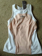 WOMENS STELLA McCARTNEY EXERCISE RUNNING YOGA BARRICADE TANK TOP LARGE NEW