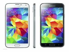 SAMSUNG GALAXY S5 G900A AT&T UNLOCKED 16GB SMARTPHONE BLACK WHITE