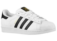 NEW MENS ADIDAS ORIGINALS SUPERSTAR CASUAL SHOES TRAINERS WHITE / BLACK / WHITE