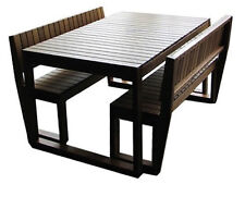 Recubo 6 Seater Outdoor Setting 3 Piece Set