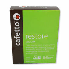 NEW Coffee Machine Cafetto Restore Descaling Powder - 4 pack