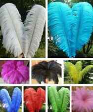Pretty 10pcs High Quality Natural Ostrich Feathers 6-8inch/15-20cm Decor DIY