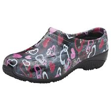 Anywear EXACT Slip Resistant Injected Closed Back Unisex Clog  Hearts Gone Wild