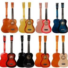 "New 25"" Beginners Kids Acoustic Guitar 6 String w/ Pick Children Student Gift"