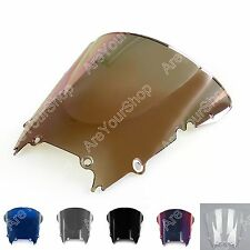 Windshield WindScreen Double Bubble For Yamaha YZF 600 R6 1998-2002 .