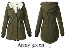 Womens Winter Warm Outwear Coat Hooded Thick Coat Jacket Cotton Blend