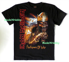 IRON MAIDEN T-Shirt Black S M L XL HM FORTUNES OF WAR GHOST REAPER TATTOO BOARD