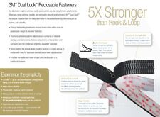 3M Dual Lock Fastener SJ3550 - Strong and Reusuable - UV / Moisture Resistant