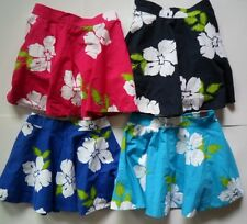 NWT Hollister Bettys Floral Mini Skirt Size S Dress Lined Stretch Blue and Navy