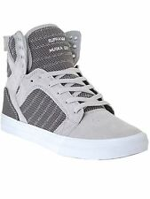 Supra Grey Violet-Two Tone-White Skytop Shoe
