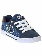 DC Blue-Brown-White Chelsea - Special Edition Womens Low Top Shoe