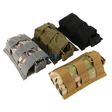 Molle Tactical Single Mag Magazine Pouch Open Top Bag For 5.56 /.223